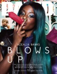 Azealia Banks for Dazed & Confused September 2012 by Sharif Hamza.