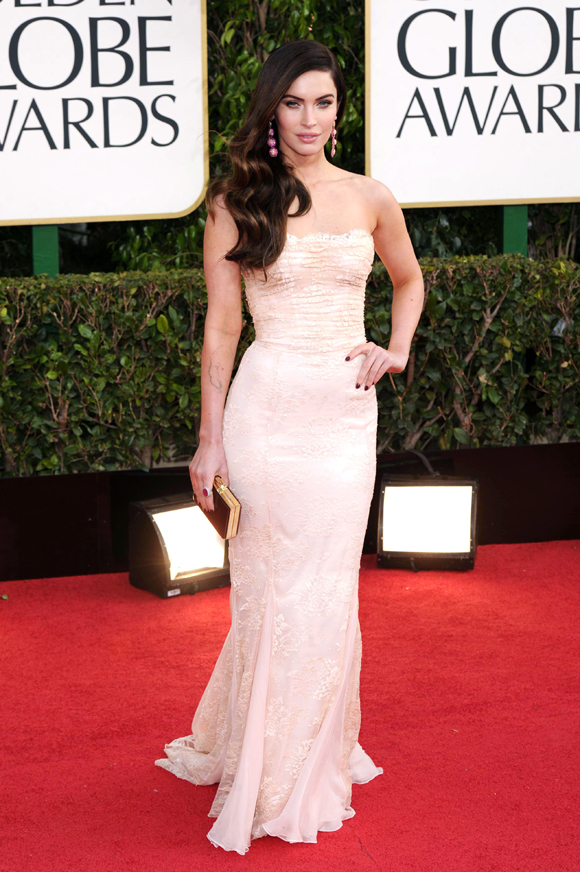 70th Annual Golden Globe Awards, Arrivals, Los Angeles, America - 13 Jan 2013